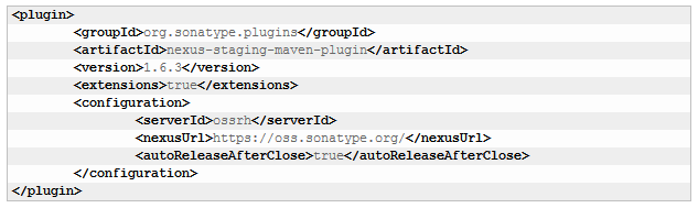 Distribute project's artifacts in Maven Central with OSSRH - Rule of