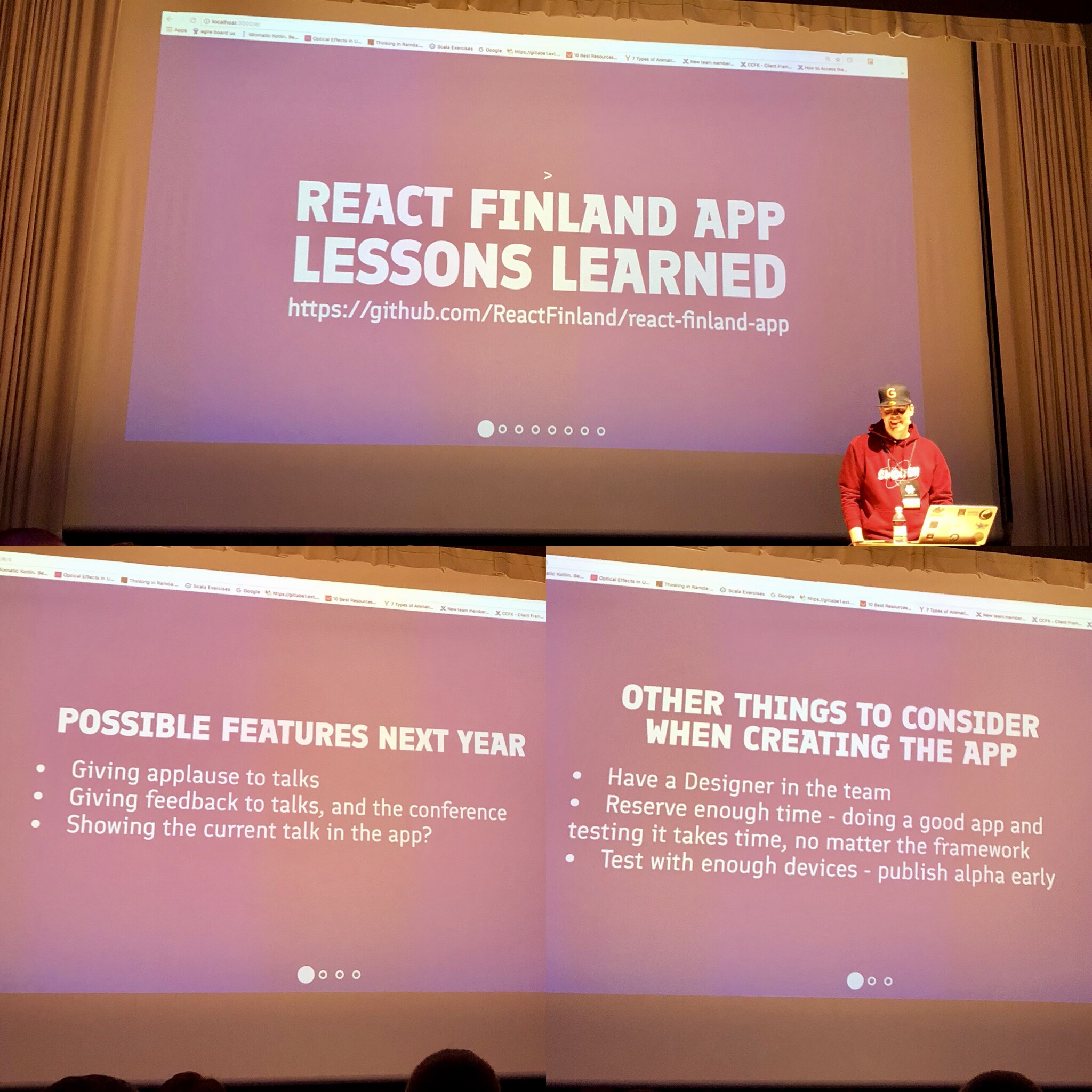 Two days of React Finland 2018: Day two with React and React Native
