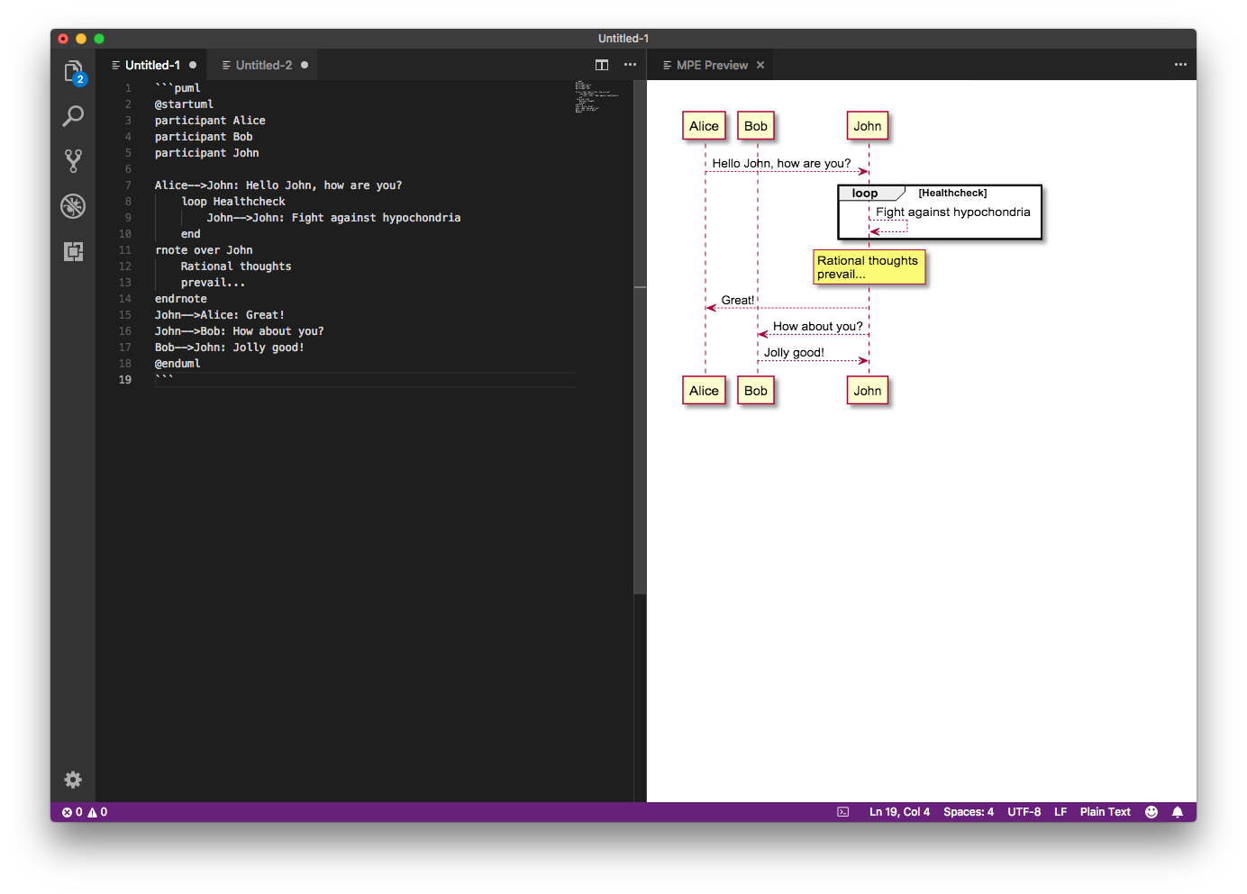 Generating documentation as code with mermaid and PlantUML ...