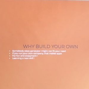 Why build your own